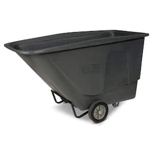 1-1/2 cu. Yds. 1,200 lbs. Capacity Standard Duty Tilt Truck in Gray