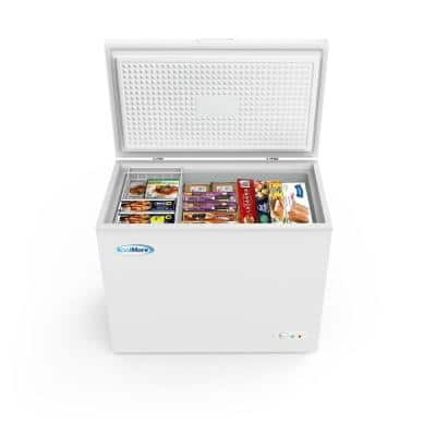 7 cu. ft. Manual Defrost Commercial Chest Freezer in White