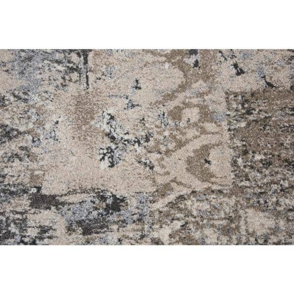 Venice Beige Brown 8 Ft 10 In X 11 Ft 10 In Abstract Area Rug Vicvi100504798011 The Home Depot