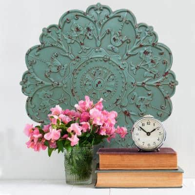 Shabby Medallion Decorative Mirror Wall Decor