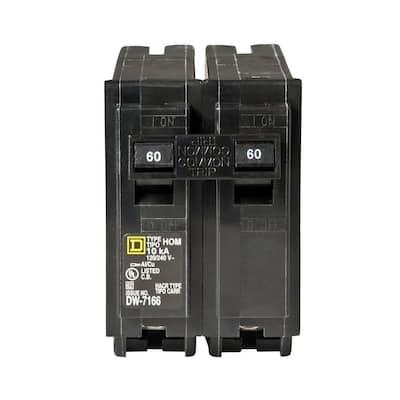 Homeline 60 Amp 2-Pole Circuit Breaker