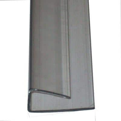 8 ft. Polycarbonate U-Channel Roof Panel for 8 mm Panels