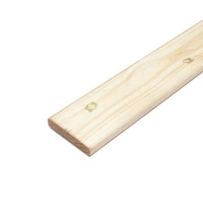 5/4 in. x 6 in. x 4 ft. Pressure-Treated Pine Premium Ground Contact Decking Board (3-Pack)