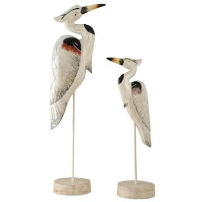 Seaguar Heron on Stands (Set of 2)