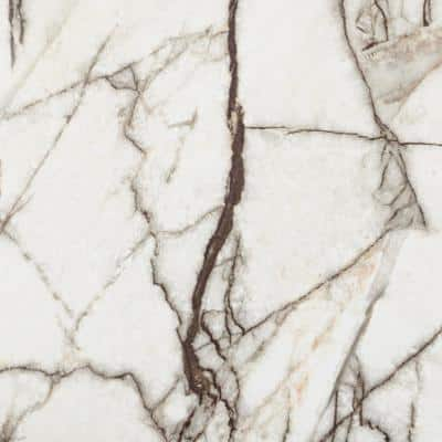 Falkirk Fermoy 12 in. W x 24 in. L Off-White Peel and Stick Luxury Vinyl Tile Flooring (20 sq. ft./case)