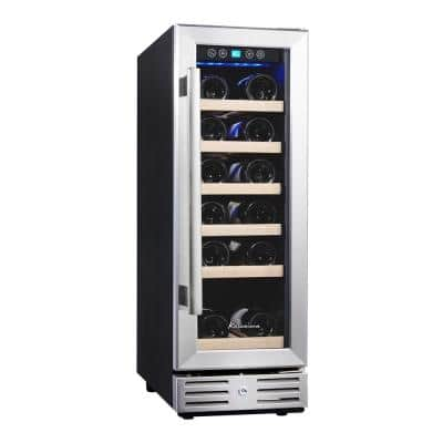 12 in. Built-in 18 Bottle Wine Cooler with Touch Control
