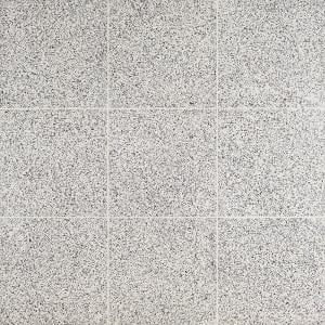 Raleigh Tan Square 16 in. x 16 in. Polished Cement Terrazzo Floor and Wall Tile (3.55 sq. ft./Case)