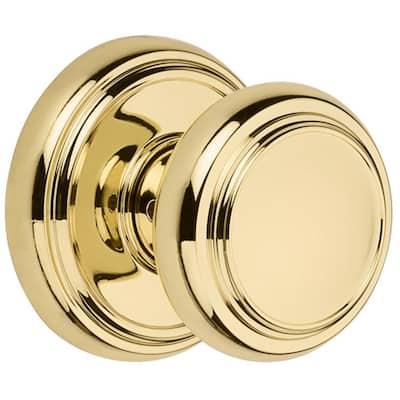 Polished Brass Two New Tool Basix Hall /& Closet Door Knob Sets
