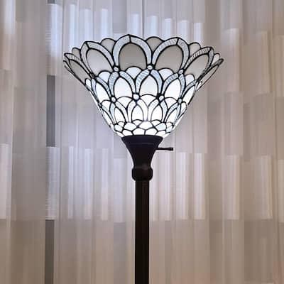 72 in. Tiffany Style Floor Lamp