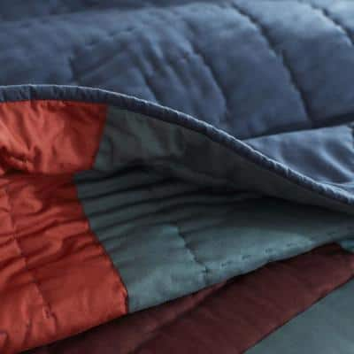 Dayton Handcrafted Multicolored Cotton Quilt