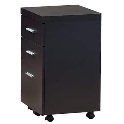 Jasmine 1-Piece Cappuccino Filing Cabinet