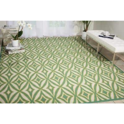 Centro Carnival 5 ft. x 7 ft. Geometric Modern Indoor/Outdoor Area Rug