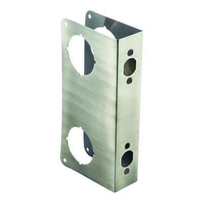 2-3/4 in. x 1-3/4 in. Stainless Steel Door Reinforcer