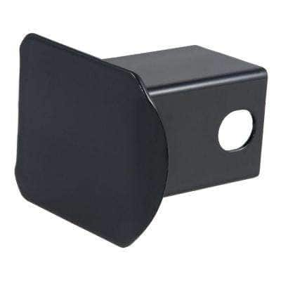 """2"""" Black Steel Hitch Tube Cover (Packaged)"""