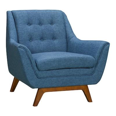 Janson Blue Fabric Sofa Chair