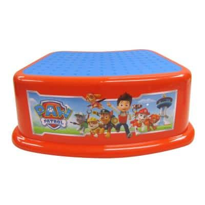 1 Paw Patrol Step Stool Calling All Pups in Red