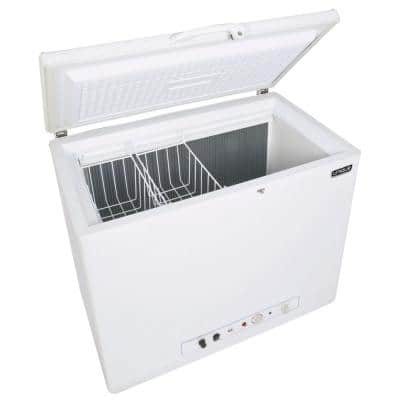 6.0 cu. ft. Propane Chest Freezer in White (Propane/110-Volt)