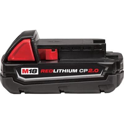 M18 18-Volt 2.0 Ah Lithium-Ion Compact Battery