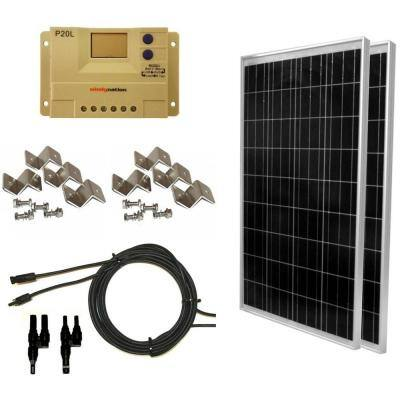 200-Watt Off-Grid Polycrystalline Solar Panel Kit