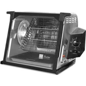 4000 Series 7.5 Qt. Stainless Steel Rotisserie Oven