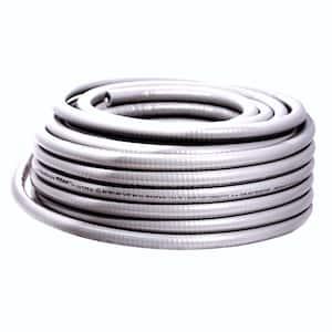 2 in. x 50 ft. Liquidtight Flexible Metallic Titan Steel Conduit