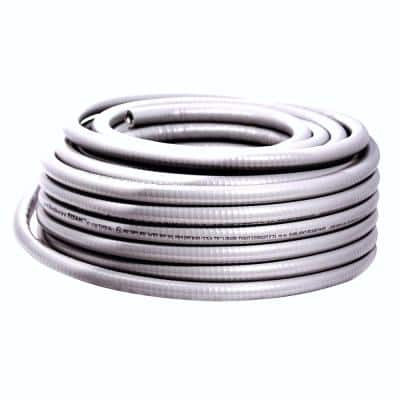 2 in. x 50 ft. Liquidtight Flexible Metallic Titan Steel Conduit