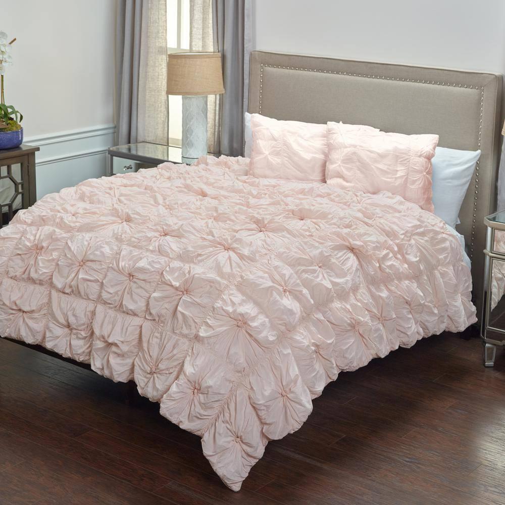 Rizzy Home Flowers 3-Piece Kids Comforter Set Twin