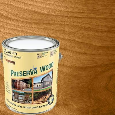 1 gal. Oil-Based Cedar-Fir Penetrating Exterior Stain and Sealer