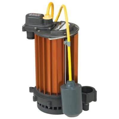 HT450-Series 1/2 HP High Temperature Sump Pump with Wide-Angle Float and Series Plug
