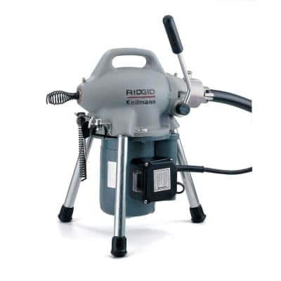 115-Volt K-50 Sectional Drain Cleaner Machine for 1-1/4 in. to 4 in. Drain Lines