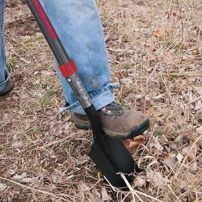 14 in. Fiberglass Handle Drain Spade
