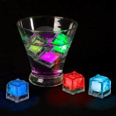 Ice Cube Shaped LED Lights (12-Per Pack)
