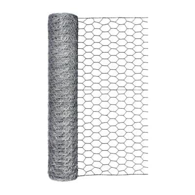 48 in. x 50 ft. 1 in. Mesh Poultry Netting