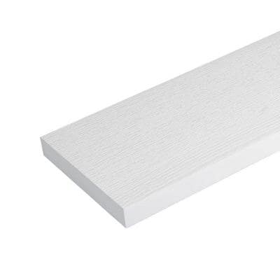 3/4 in. x 5-1/2 in. x 8 ft. H Performance Reversible Cellular White PVC Trim Board