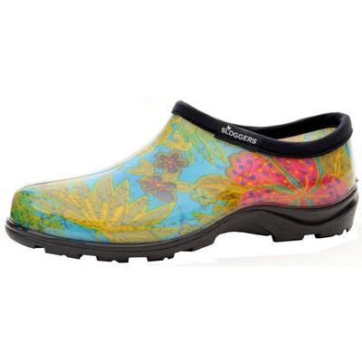 Women's Size 8 Midsummer Blue Waterproof Rain/Garden Shoe