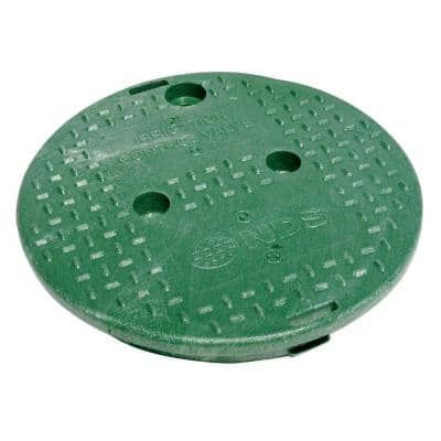 10 in. Round Valve Box Overlapping ICV Cover