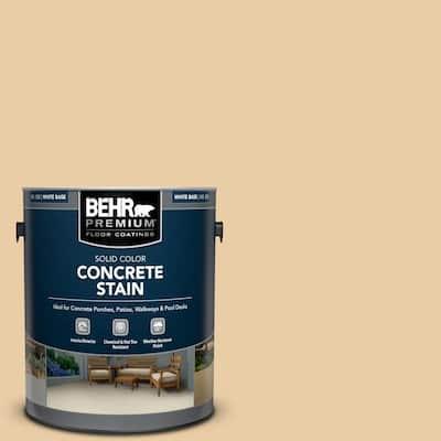 1 gal. #PFC-21 Grain Solid Color Flat Interior/Exterior Concrete Stain