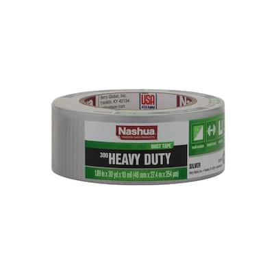 1.89 in. x 30 yd. 300 Heavy-Duty Duct Tape in Silver