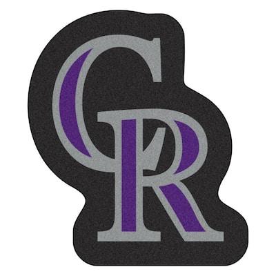 MLB - Colorado Rockies 34.8 in. x 30 in. Indoor Area Rug Mascot Mat