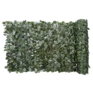 40 in. x 96 in. Faux Ivy Leaf Indoor/Outdoor Privacy Roll