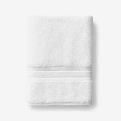 Company Cotton White Solid Turkish Cotton Bath Towel