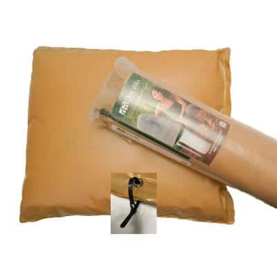 24 in. W x 24 in. H Plastic Small Fiberglass Encapsulated Tan Insulation Pouch