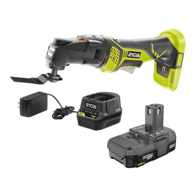 ONE+ 18V Cordless JobPlus Base with Multi-Tool Attachment with (1) 1.5 Ah Lithium-Ion Battery, and Charger