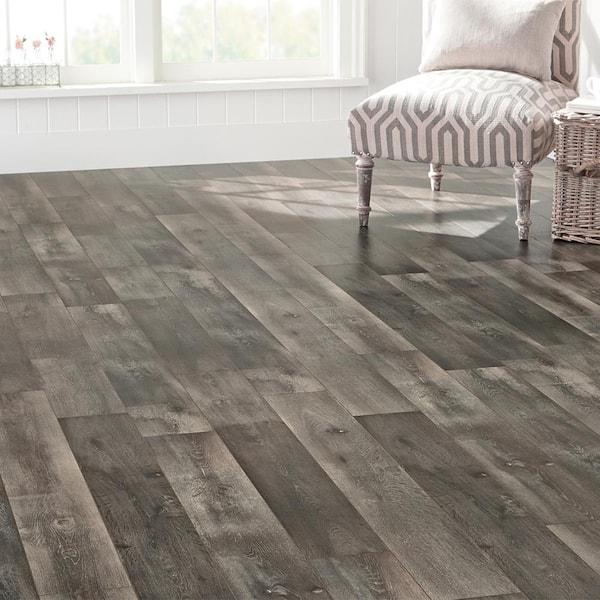 Eir Courtship Grey Oak 8, Grey Laminate Flooring Home Depot