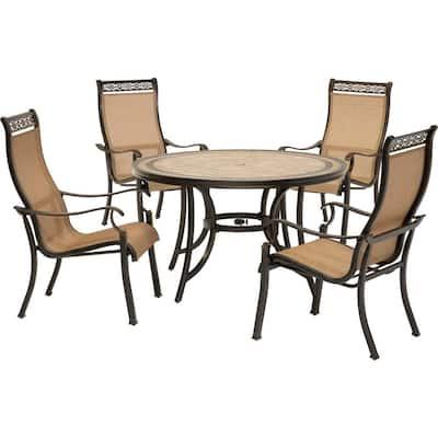 Monaco 5-Piece Patio Outdoor Dining Set