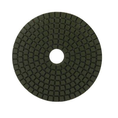 4 in. 100 Grit Resin Wet Polishing Pad