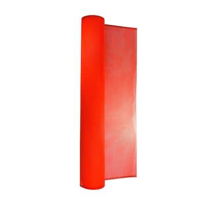 66 in. x 150 ft. PVC-Coated Orange Debris Safety Netting