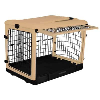 36.5 in. x 24.5 in. x 27.5 in. The Other Door Steel Crate