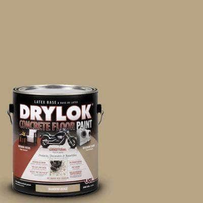 1 gal. Bamboo Beige Latex Concrete Floor Paint