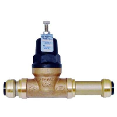 3/4 in. Bronze 36ELF Slip Push-to-Connect Water Pressure Regulator